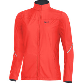 GORE WEAR R3 Partial Gore Windstopper Jacke Damen lumi orange